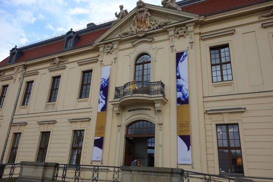 Jüdisches Museum: Original building.