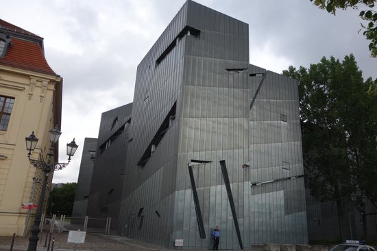 Jüdisches Museum: Modern wing.