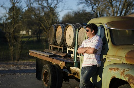 Russian River Vineyards: Giovanni our wine maker
