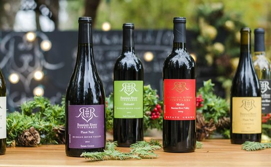 Russian River Vineyards: Some of our most popular wines