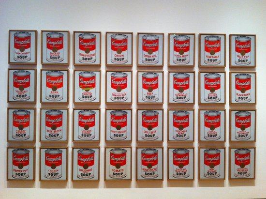 The Museum of Modern Art (MoMA) : Outra obra de Warhol
