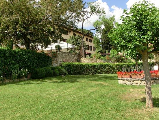 Casafrassi Hotel : Landhausgarten Casafrassi