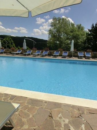 Casafrassi Hotel: Pool mit Aussicht