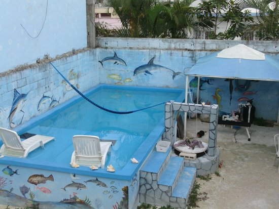 Plongee Grand Cozumel Diving: la picine
