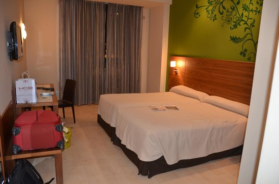 Sercotel Hotel Gran Bilbao: Nice beds