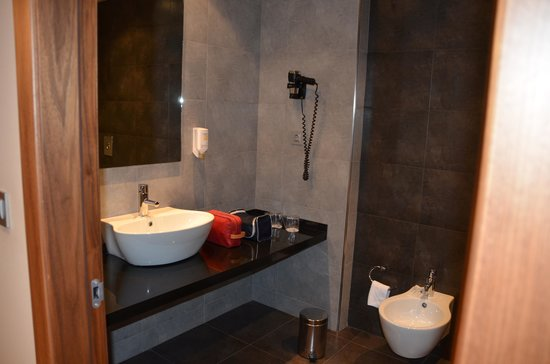 Sercotel Hotel Gran Bilbao: Bathroom of high class