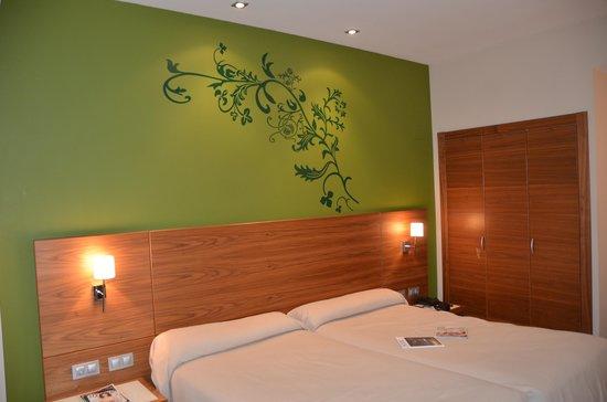 Sercotel Hotel Gran Bilbao: Cosy beds