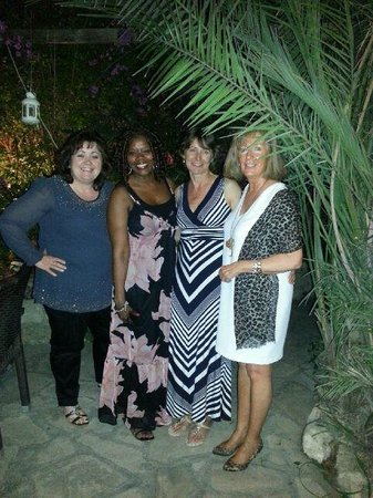 The Old Town Restaurant : A super night at The Old Town - in the courtyard garden