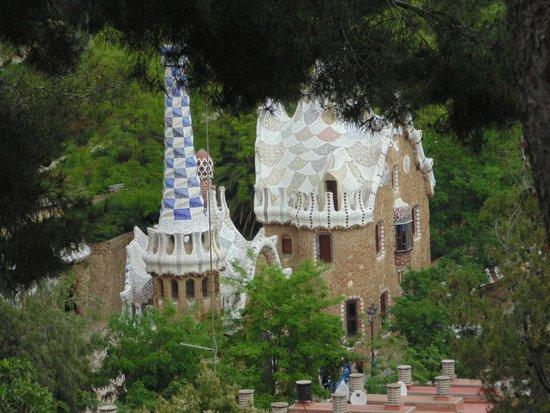 Park Guell: Vista Parc Güell