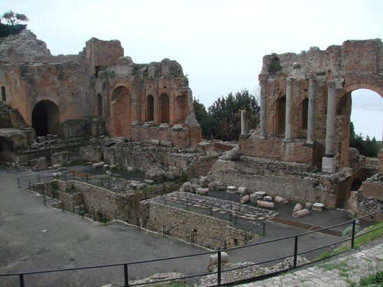 Greek Theatre : PARTE CENTRAL
