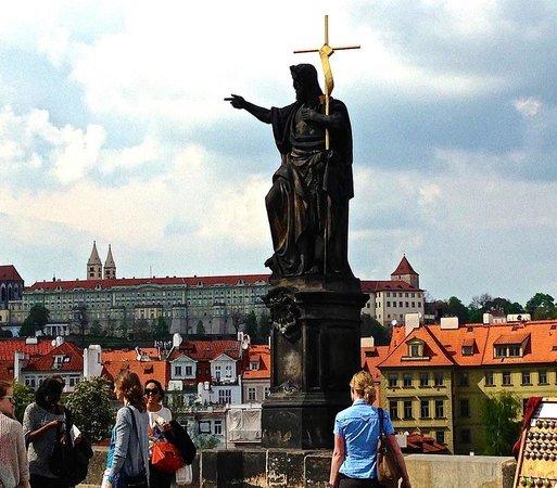 On Charles Bridge, Prague