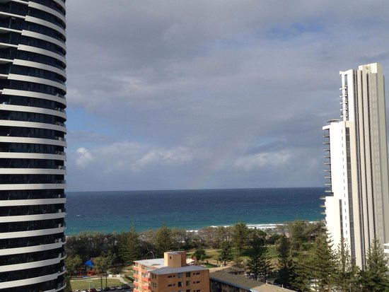 Peppers Broadbeach: View from balcony