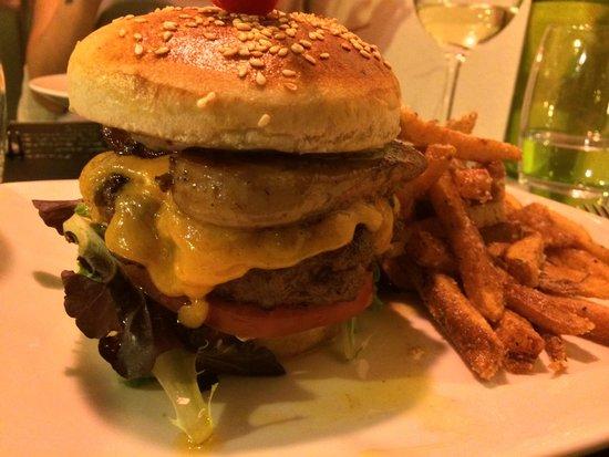 Bistro Le Donjon : Bistrot Burger