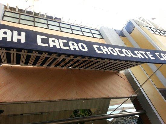 Ah Cacao Chocolate Café: Ah Cacao! Plaza La Isla