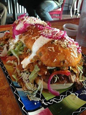 Xalos Mexican Grill: Torta Loca!  Mmm.