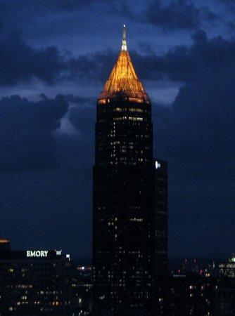 Hilton Atlanta: view from my room