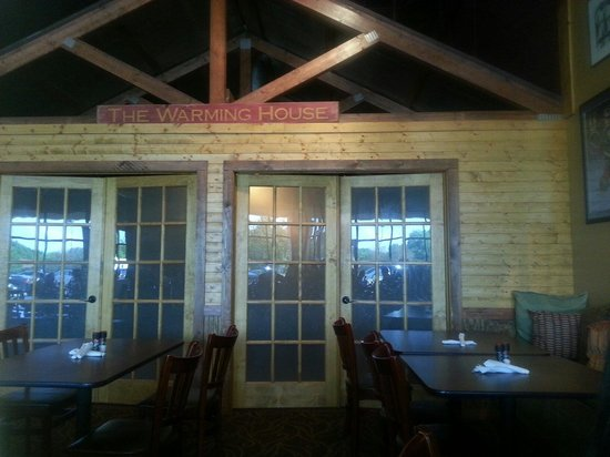 Fireside Party Room Available For Special Gatherings