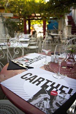 Carthel : terrasse