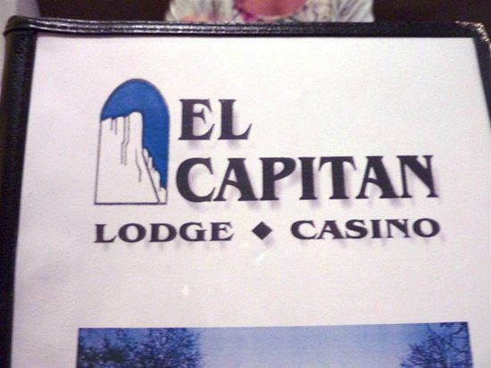 El Capitan Resort Casino : Menu