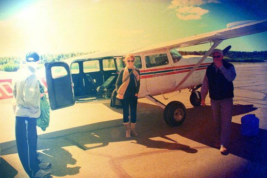 Bear Camp: plane