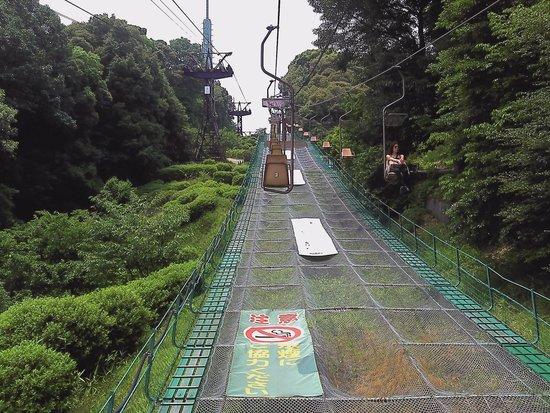 Matsuyama Castle Ropeway / Lift: リフトの風景