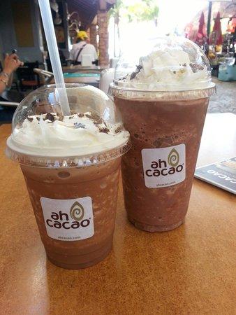 Ah Cacao Chocolate Cafe : El Mocha Frapuchino, mi favorito!