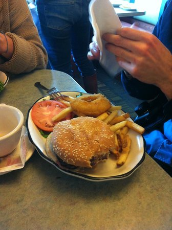 Court Square Diner : hamburgers