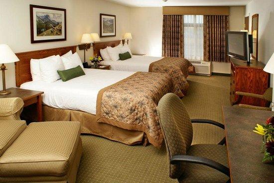 Big Horn Resort : Room with two queen beds