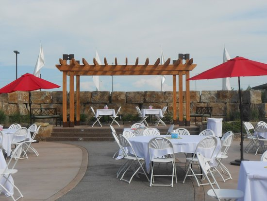 Big Horn Resort : Event Garden for BBQ