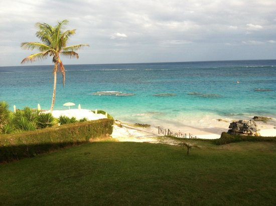 Coco Reef Resort Bermuda: view from room 214