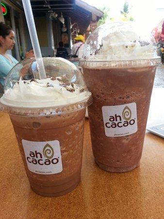 Ah Cacao Chocolate Café: Excelente sitio para hacer un parada, descansar y refrescarse para tomar un respiro mientras hac