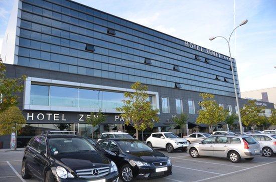 Hotel Zenit Pamplona: Så ser hotellet ut