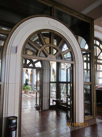 Hotel Riu Palace Cabo San Lucas: entrance