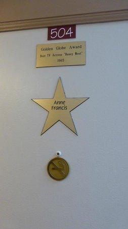 Chelsea Pines Inn: Anne Francis!