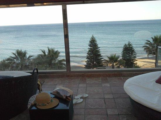 Gran Hotel Elba Estepona & Thalasso Spa: piscina  limatizada