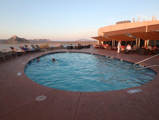 Lake Powell Resort: One of the pools