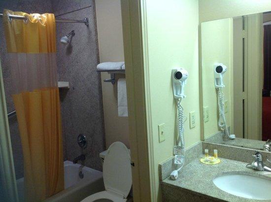 Days Inn & Suites Tuscaloosa - University of Alabama: Bath and separate vanity