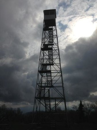 Overlook Mountain: firetower at the top