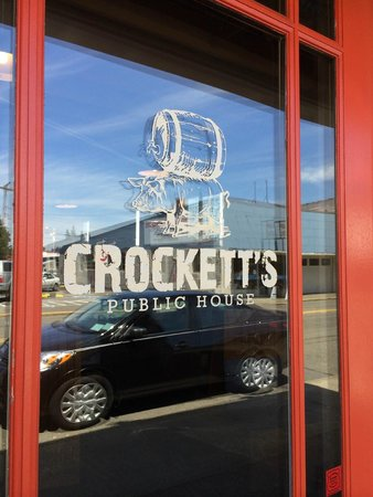 Crockett's Public House: front door