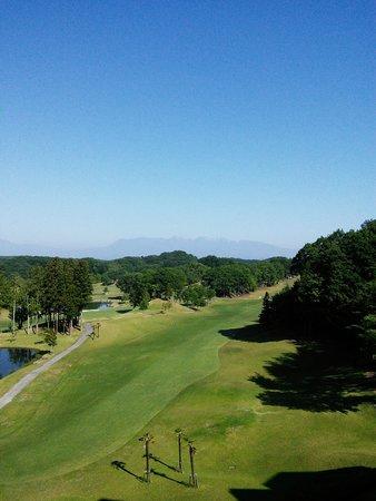 Island Hotel & Resort Nasu: ベランダから見た景色