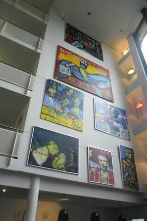 WestCord Art Hotel Amsterdam : Arte