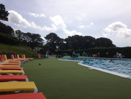 Water Slide Picture Of Parkdean Newquay Holiday Park Newquay Tripadvisor
