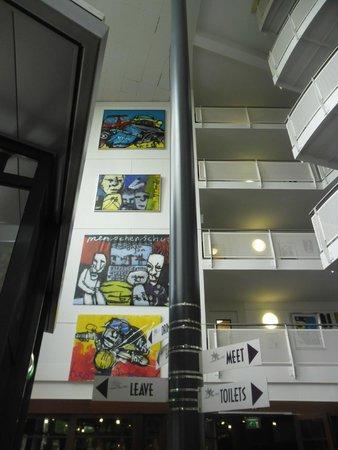 WestCord Art Hotel Amsterdam : Mais arte ainda!!!