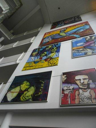 WestCord Art Hotel Amsterdam: E olha mais arte! UHU!