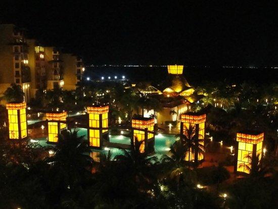 Villa del Palmar Cancun Beach Resort & Spa: Night Views from Balcony