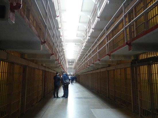 Alcatraz: As celas