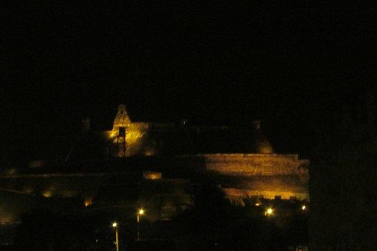 Château de San Felipe de Barajas : de noche