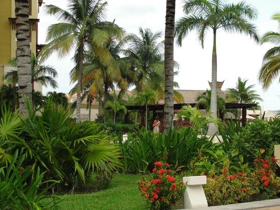 Villa del Palmar Cancun Beach Resort & Spa : Lush Grounds