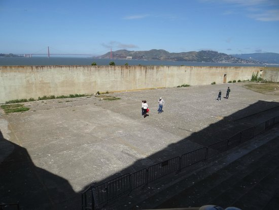 Alcatraz: Pátio de recreação