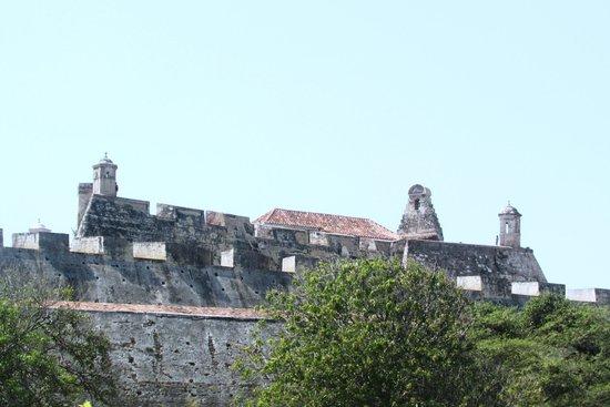 Château de San Felipe de Barajas : desde lejos